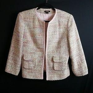 Express tweed blazer